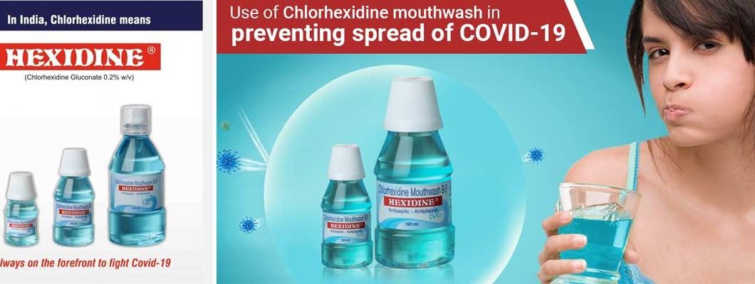 Chlorhexidine can prevent Covid19
