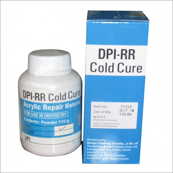 RR Cold Cure Powder 110gm DPI Cold Cure