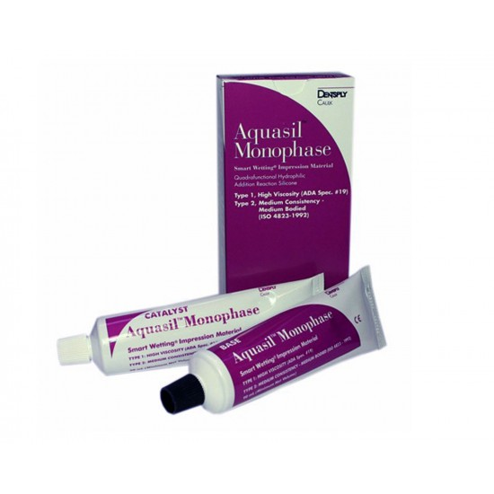Aquasil Monophase Tube Refill Dentsply Impression Material