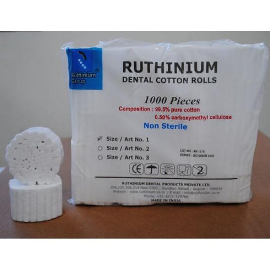 Cotton Rolls by Ruthinium Ruthinium Disposable